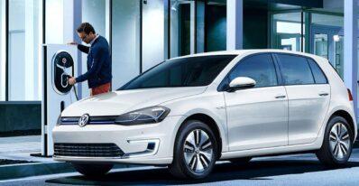 Volkswagen e-Golf en renting barato