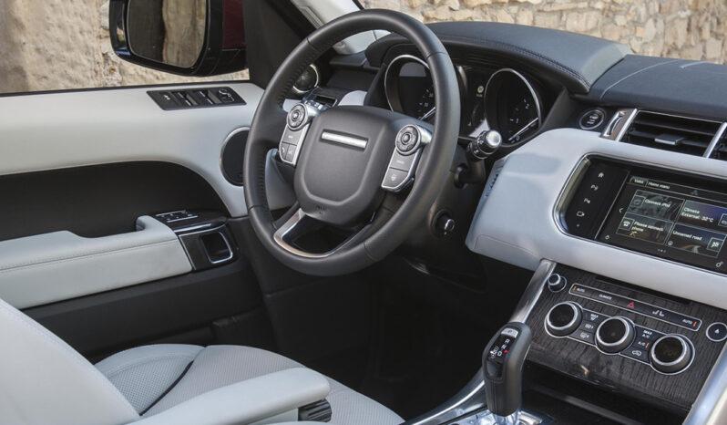 Range Rover Sport lleno